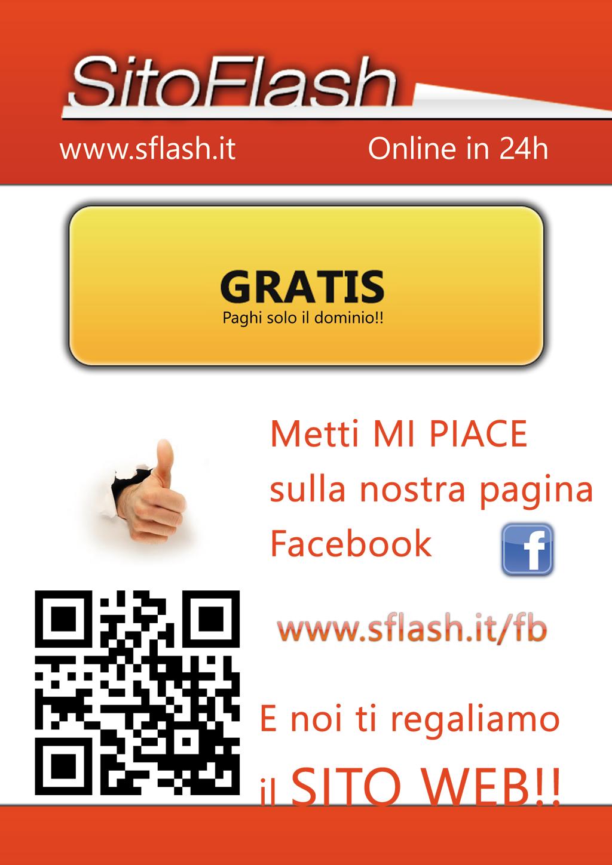 Volantino SitoFlash